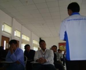 Kuliah Zakat di SMA Internasional Budi Mulia